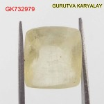 Ratti-7.51 (6.80CT) Yellow Sapphire Pukhraj Exclusive Collection