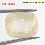 Ratti-7.03 (6.37CT) Yellow Sapphire Pukhraj Exclusive Collection