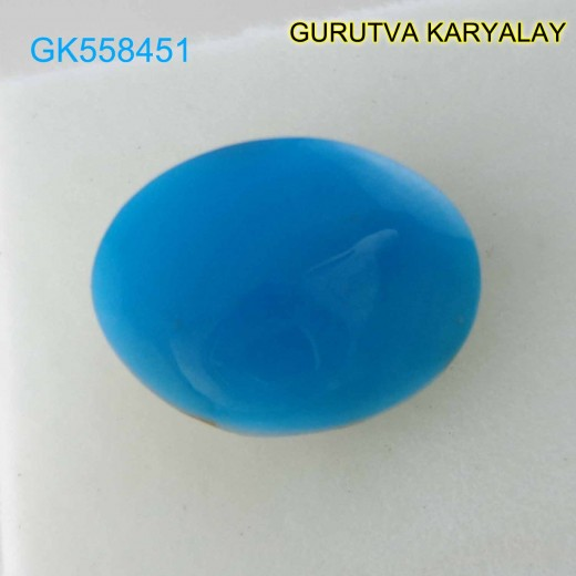 Ratti-5.50 (5.00 ct) Natural Firoza (Turquoise)