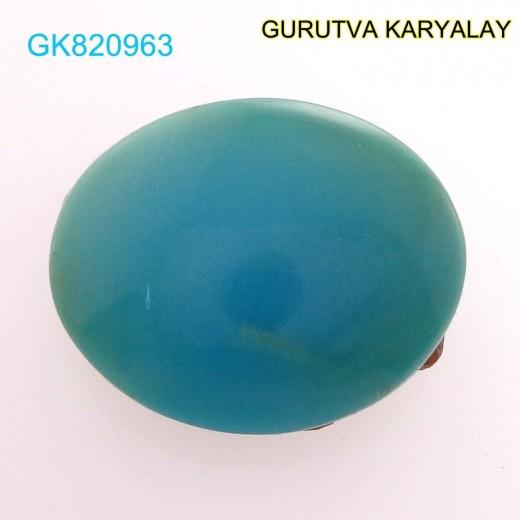 Ratti-5.86 (5.31 ct) Natural Firoza (Turquoise)