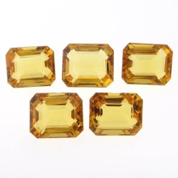 Ratti-29.21 (26.44ct) Golden Topaz(Citrine) 5 Pieces Seller Pack