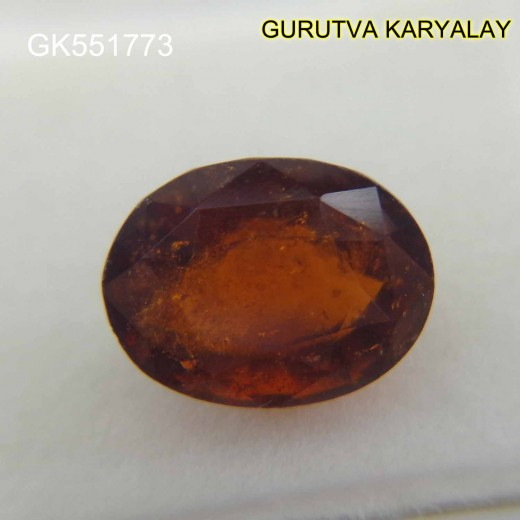 Ratti:7.61 (6.88 ct) Ceylon Gomed Hessonite Garnet