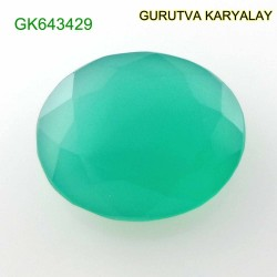 Ratti-12.61 (11.40 ct) Green Onyx