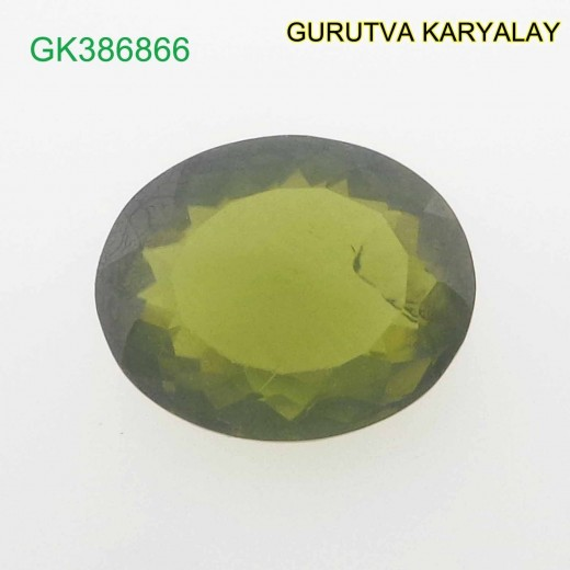 Ratti-4.06 (3.67 ct) Green Peridot Premium Quality Gemstone