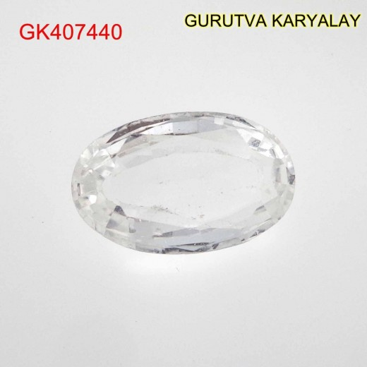 Ratti-4.90 (4.44 CT) NATURAL WHITE TOPAZ