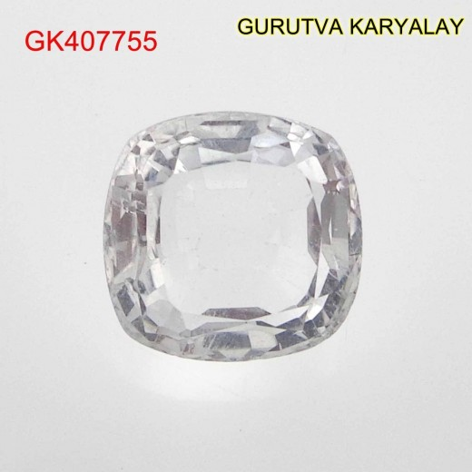 Ratti-4.44 (4.02 CT) NATURAL WHITE TOPAZ