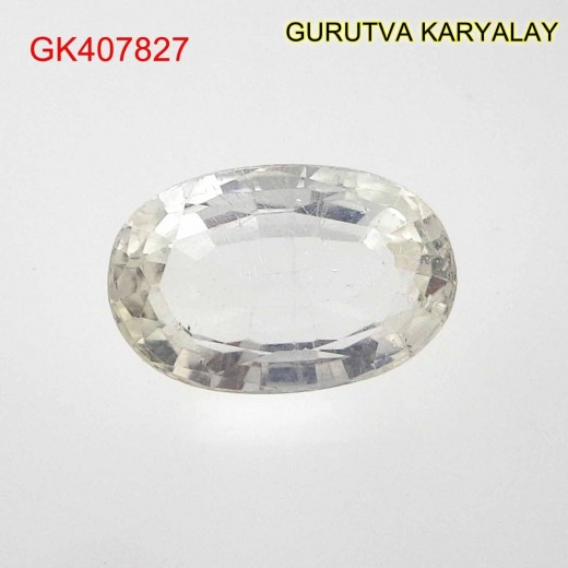 Ratti-4.79 (4.34 CT) NATURAL WHITE TOPAZ