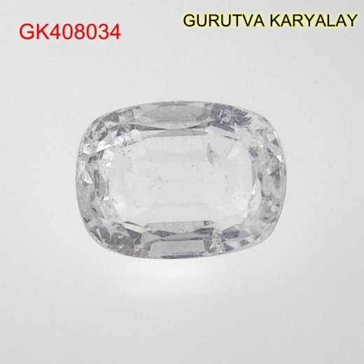 Ratti-4.92 (4.46 CT) NATURAL WHITE TOPAZ