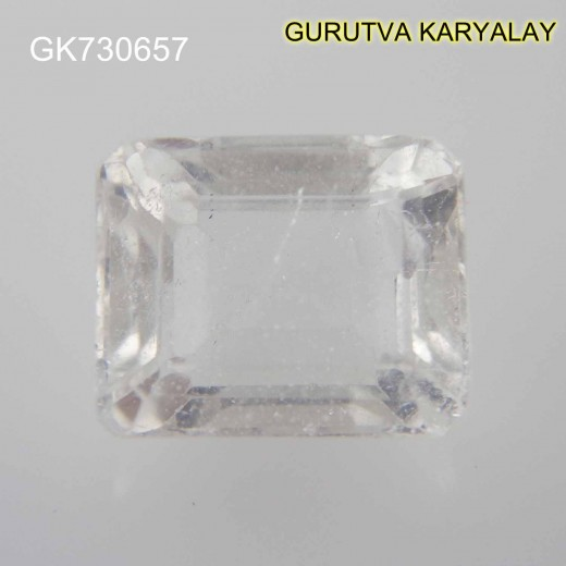 Ratti-6.83 (6.19 CT) NATURAL WHITE TOPAZ