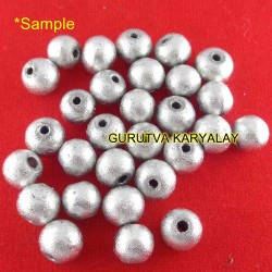 2 Pieces Parad Gutika (Mercury Bead)