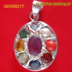 Navratna Locket 7.5 Gram